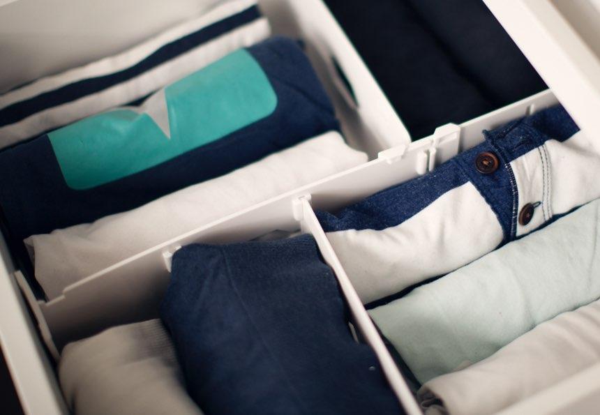 Ordnung Im Kleiderschrank T Shirts so geht ordnung – tschüss, überfüllter kleiderschrank! - tchibo blog